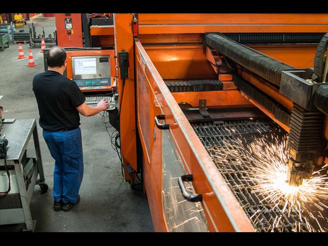 Découpage laser - Jusqu'à 15mm en acier - 10mm en alu