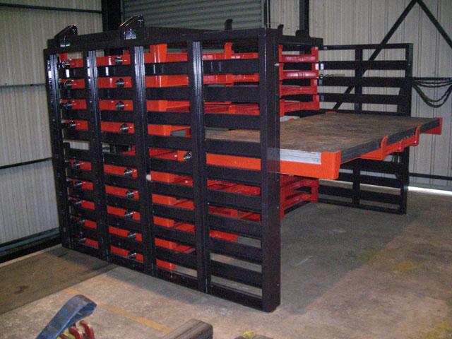 Casier à tole - industrie mécanique- biens d'équipements - MECATLAS