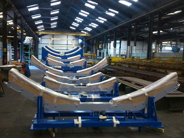 chariot spécifique de transport de tronçon-d'avion - Bien d'équipement - MECATLAS
