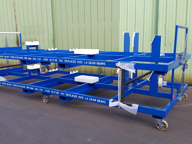 chariot de transport- biens d'équipement - MECATLAS