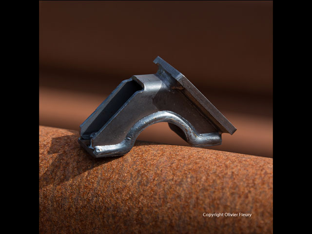 demi collier pour industrie navale - produit mecano-soudé - MECATLAS
