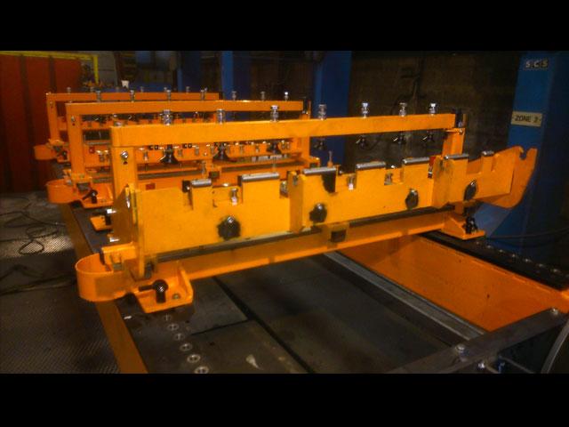 gabarit de soudage robotisé pour machine agricole -outillage - MECATLAS